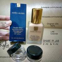 SHARE IN JAR - ESTEE LAUDER DOUBLE WEAR FOUNDATION ORIGINAL USA 100%