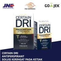 CERTAIN DRI Antiperspirant Roll On ( Obat Ampuh untuk Ketiak Burket )