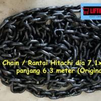 Chain / Rantai Hitachi dia 7.1x21mm 6,3 meter for Chain Hoist Hitachi