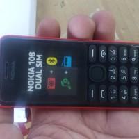 Dummy HP NOKIA GSM 108 DUAL SIM merah