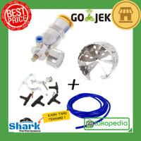 Paket HKS Air Micro Kompressor + Cyclone + Silicone Hose / Fuel Saver