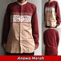 Baju Koko Lengan Panjang, Busana Muslim Pria Dewasa M17