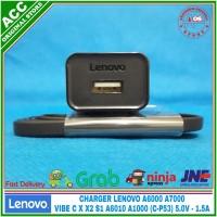 Charger LENOVO C-P53 A6000 VIBE C X X2 S1 ORIGINAL 5V-1.5A C-P53