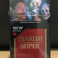 Harga djarum super 16 batang rokok jarum kretek filter grosir | antitipu.com