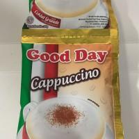 Good Day Cappuccino 1 Renceng / 10 Sachet / Sashet / Pcs / Goodday