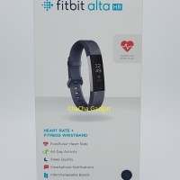 Fitbit Alta HR Fitness Wristband Smartwatch Tracker Blue Gray S