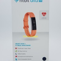Fitbit Alta HR Fitness Wristband Smartwatch Tracker Coral S