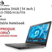 DELL Vostro 3468 ( 14 Inch ) Core i3-7100U DOS