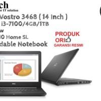 DELL Vostro 3468 ( 14 Inch ) Core i3-7100 Win 10 Home SL