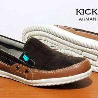 Sepatu Lebaran santai formal casual pria kickers grade original