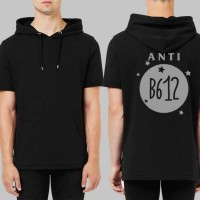 Short Sleeve Anti B612 - Hitam