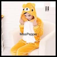 onesie cosplay pajama rilakuma bear / piyama kostum beruang
