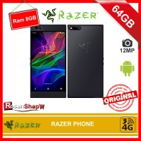 RAZER PHONE 64GB RAM 8GB 12MP - Gamers Edition Smartphone - Original
