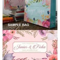 Paper Bag Tas Souvenir Pernikahan Kantong Kertas Toko Custom Design 21