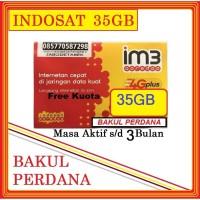A12127 Kartu Perdana Data Indosat 35 GB Kuota Data 35GB Internet IM3