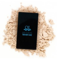 Ql Cosmetic Two Way Cake 01 Natural Yellow - 15 Gr