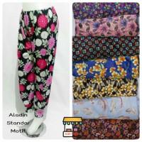 Aladin Standar Motif/Celamis Aladin Motif/Daleman Gamis/Celana Santai