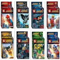 Jual Lego Kw Cina Marvel Superhero Avengers merk SY/ Promo Murah/Bricks Murah