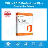 KEY+DVD: License Office 2016 Pro Plus 100% Ori Active Online