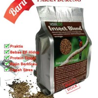 Insect Blend VoerZoo 2 pakan burung muray kacer