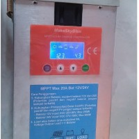 harga 20a Mppt Solar Charge Controller Module 12v 24v Lead Acid Calcium Scc Tokopedia.com