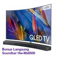 TV QLED SAMSUNG 65 Q8C PREMIUM UHD SMART 4K TV CURVED BONUS SOUNDBAR