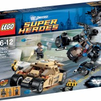 LEGO 76001 Super Heroes The Bat vs Bane Tumbler Chase
