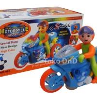 Harga mainan anak motorcycle light sound sepeda motor balap promo   Pembandingharga.com