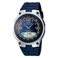 Casio Analog Digital Fishing Gear Watch AW-82H-2AVDF - Jam Tan NEW