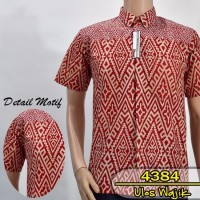 Kemeja Batik Pria | Batik Ulos Batak