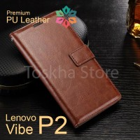Lenovo P2 Vibe P2 Wallet Case  Leather Case