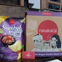 Rasa Lokal Kripik Singkong paket murah Sambal Matah Bali