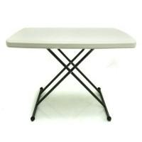 Krisbow Adjustable Meja Lipat Jualan Untuk Bazar Murah Portable