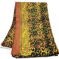 Batik Coklat Kuning Gajah Oling Banyuwangi BWI-019