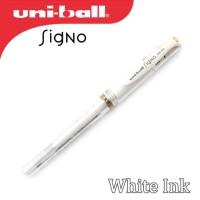 Uni-ball Signo Broad UM-153 White Pen (Gel Ink)