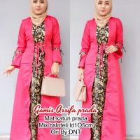 Gamis Assifa Prada, Baju Muslim Batik murah ,setelan kerja wanita