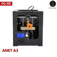 Anet A3 3D PRINTER PLA ABS PVA 1.75mm Murah Upgrade dari Prusa I3
