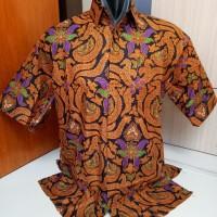 Kemeja Hem Batik Sogan Harga Grosir - Kemeja Hem Keren dan Modern
