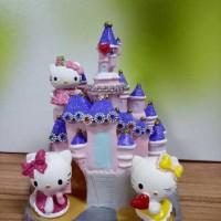 HIASAN KUE ISTANA HELLO KITTY (PMISTANAHK) HIASAN/PAJANGAN/TOPPER CAKE