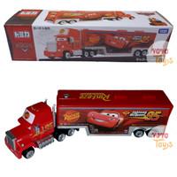 Tomica Disney Cars MACK Team Transporter Cargo Truck Trailer