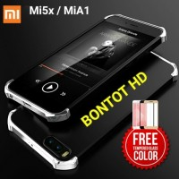 Xiaomi Mi A1 5X Mi5x Mia1 Hardcase New + TEMPERED GLASS FULL LAYAR HP