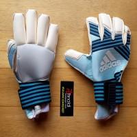 sarung tangan kiper Adidas ace trans aqua fingertip / goalkeeper