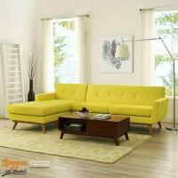 sofa tamu minimalis modern sofa tamu sudut L sofa tamu retro chester