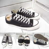 Sepatu Converse All Star Chuck Taylor 70s Seventies Low Black White