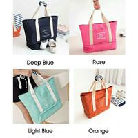 Korea Travel Layer Bag / Travel Tote Bag / Kanvas Totebag