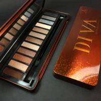 LT PRO Diva Eyeshadow Palette - DIVA Eye Shadow Palette by LT PRO