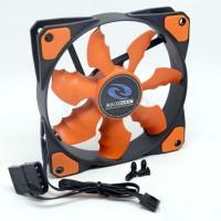 Raidmax Cobra RX-120SR/RX120SR Orange Fan/Case Fan 120mm/12cm