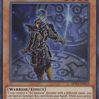 Kartu Yugioh Legendary Six Samurai - Kizan [Super Rare]