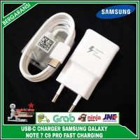 Charger Samsung Galaxy Note 7 C9 Pro ORIGINAL FAST CHARGING Type C
