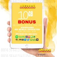 PAKET DATA INDOSAT / kartu perdana INJECT KUOTA INDOSAT PROMO 10GB
